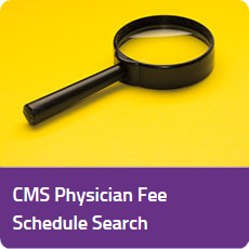 CMS Physician Fee Schedule Search