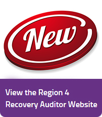 View the Region 4 Recovery Auditor Website