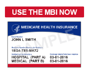 Starting January 1, 2020 all claims must be submitted with MBIs only. Start using the MBI now.